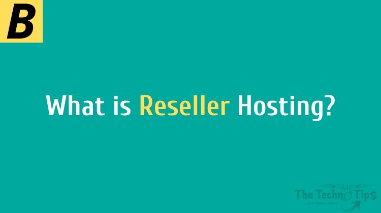 In this image order immediately & have the reseller hosting-on thetechotips