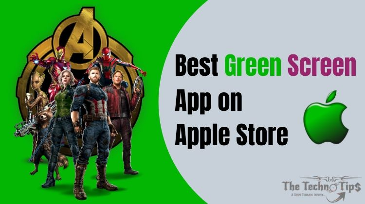 In this image there is green and avengers team iron man hulk banner captain america star loard groot black widow avengers infinity war Avengers endgame-best green screen app on apple store-thetechnotips