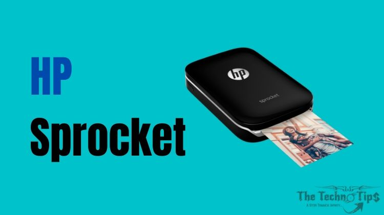 In this image HP Sprocket - Best Budget Small Printers For Office Use - Thetechnotips