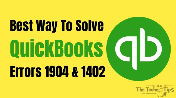 Resolve QuickBooks Error 1904 – Step By Step