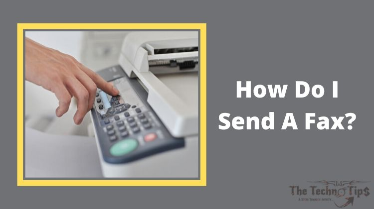 In this image-How Do I Send A Fax From My Printer Employing A Document Feeder?-Fax From Your Printer-Thetechnotips