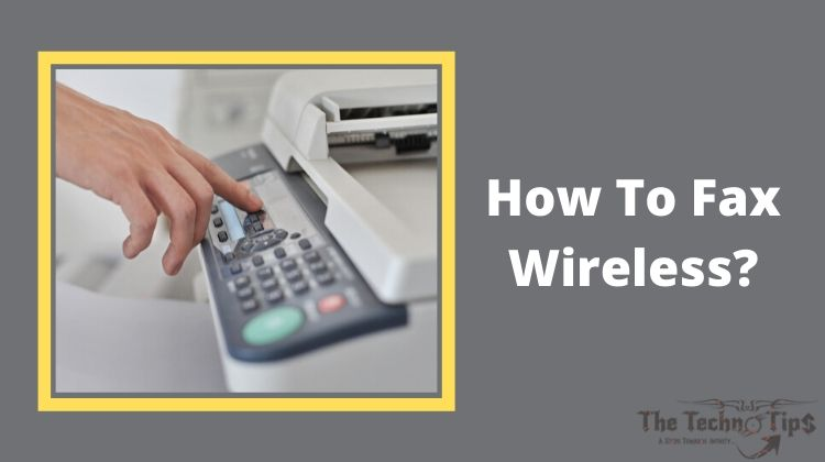 In this image-How To Fax Wireless From Horsepower Printer-Fax From Your Printer-Thetechnotips